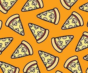 pizza, art, and pattern image