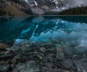 canada, lake, and national park image