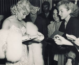 famous, marilyn, and monroe image