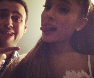 ariana grande and scooter braun image
