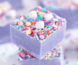 article, fudge, and rainbow image