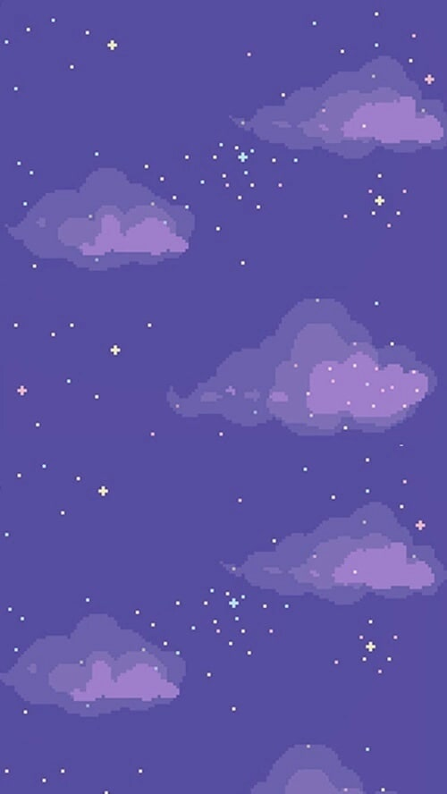 clouds, purple, and wallpaper image