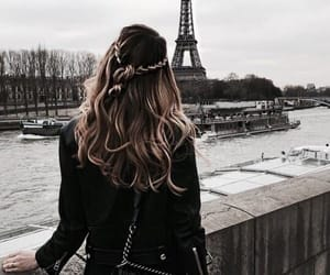 fashion, hair, and paris image