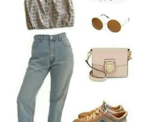 bag, jean, and Polyvore image