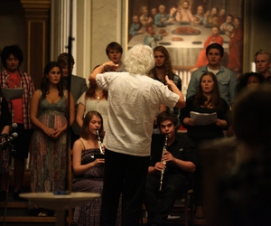 choir, classical, and music image
