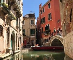 italy, travel, and venezia image