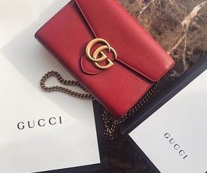 bag, fashionable, and gucci image