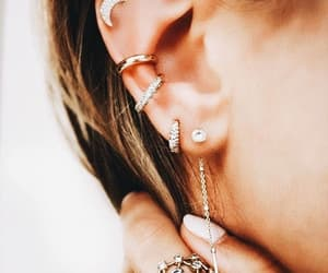 style, accessories, and earrings image
