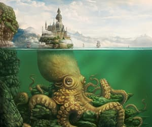 fantasy and octopus image