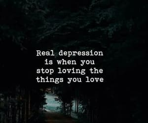 depression, quote, and things image