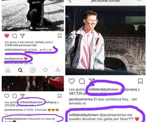 jacob, millie, and instagram image