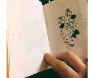 black, drawing, and minimalist image