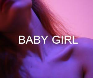 baby, baby girl, and grunge image