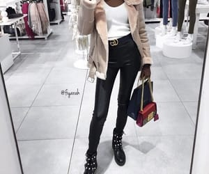 fashion style, outfit clothes, and winter hiver image