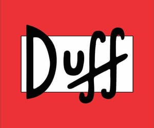 Duff, red, and wallpaper image
