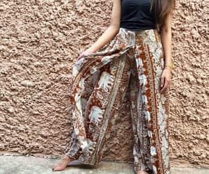 etsy, palazzo pants, and boho pants image
