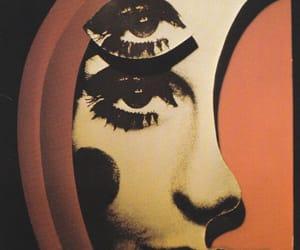 moon, art, and eyes image