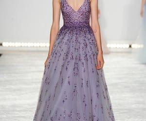 dress, long dresses, and Monique Lhuillier image