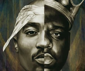2pac, hip hop, and music image
