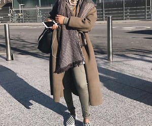 fashion, modest, and winter image
