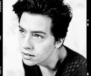 black and white and cole sprouse image