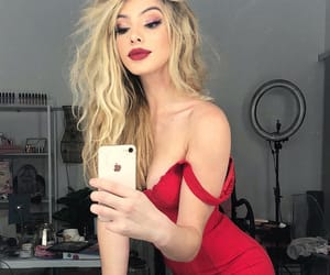 beauty, red, and lelepons image