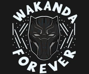 black panther, pantera negra, and wakanda forever image
