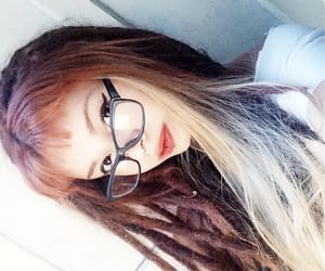 blonde, dreads, and indie image
