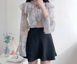 clothing, korean, and cute image