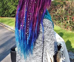 dreadlocks, mermaid, and mermaid hair image