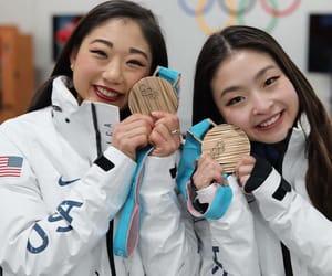 bff, ice skating, and olympics image
