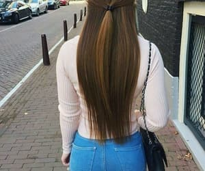 cool, hair, and look image