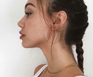 alexis ren, braid, and earrings image