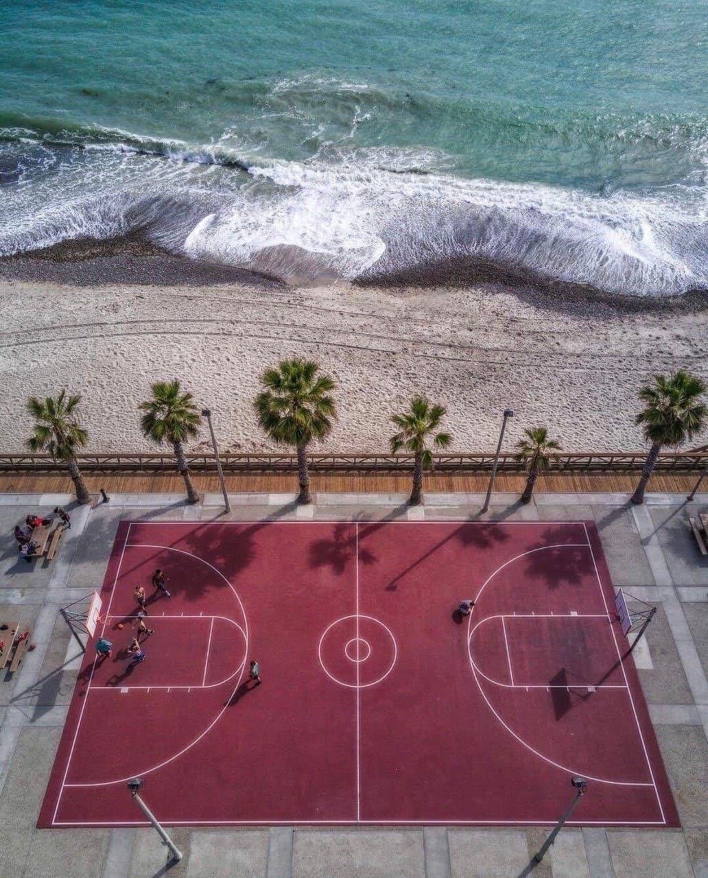 Basketball, blue, and city image