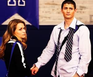 one tree hill, james lafferty, and haley james scott image