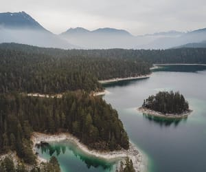 lake, nature, and Moutains image