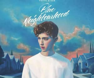 troye sivan, blue neighbourhood, and music image