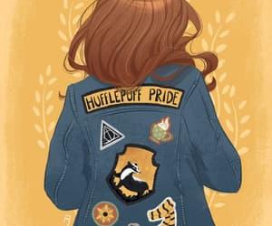 art, hogwarts, and hufflepuff image