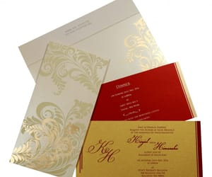 hindu wedding cards, hindu wedding invitations, and hindu invitations image