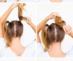 Easy, hairstyle, and tutorial image