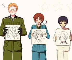 hetalia, germany, and japan image