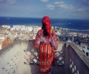 Algeria, city, and sea image