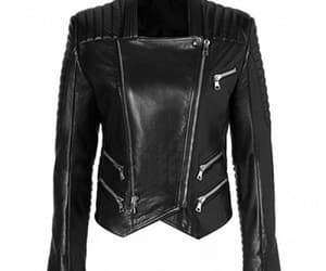 women and women leather jacket image