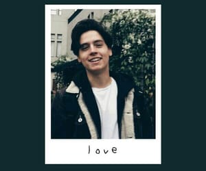 boy, cole sprouse, and love image