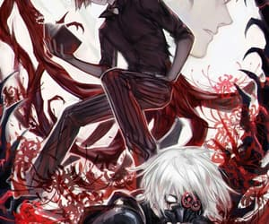 anime, ghoul, and tokyoghoul image