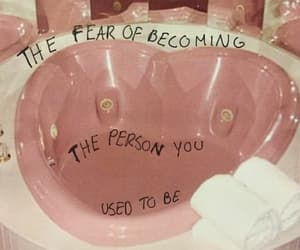 pink, quotes, and words image