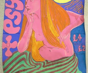 Dream, poster, and psychedelic image