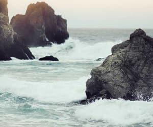 wallpaper, sea, and ocean image