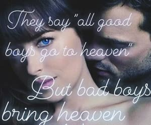 bad boys, heaven, and Lyrics image