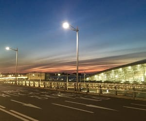 airport, international, and incheon image